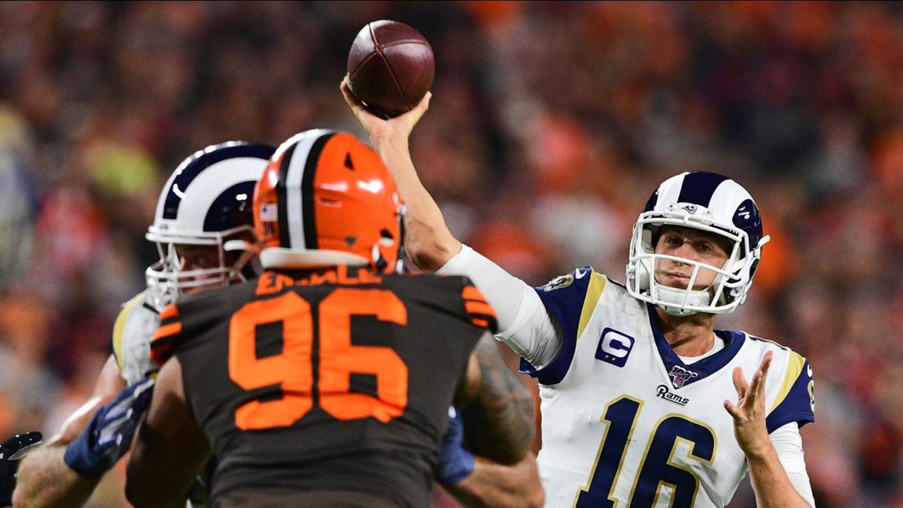 LA Rams QB Jared Goff