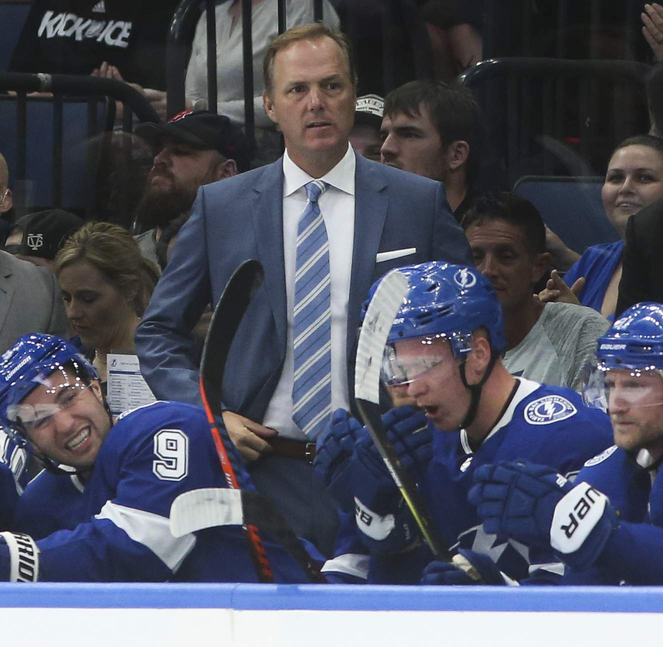 Tampa Bay' Lightning head coach, Jon Cooper