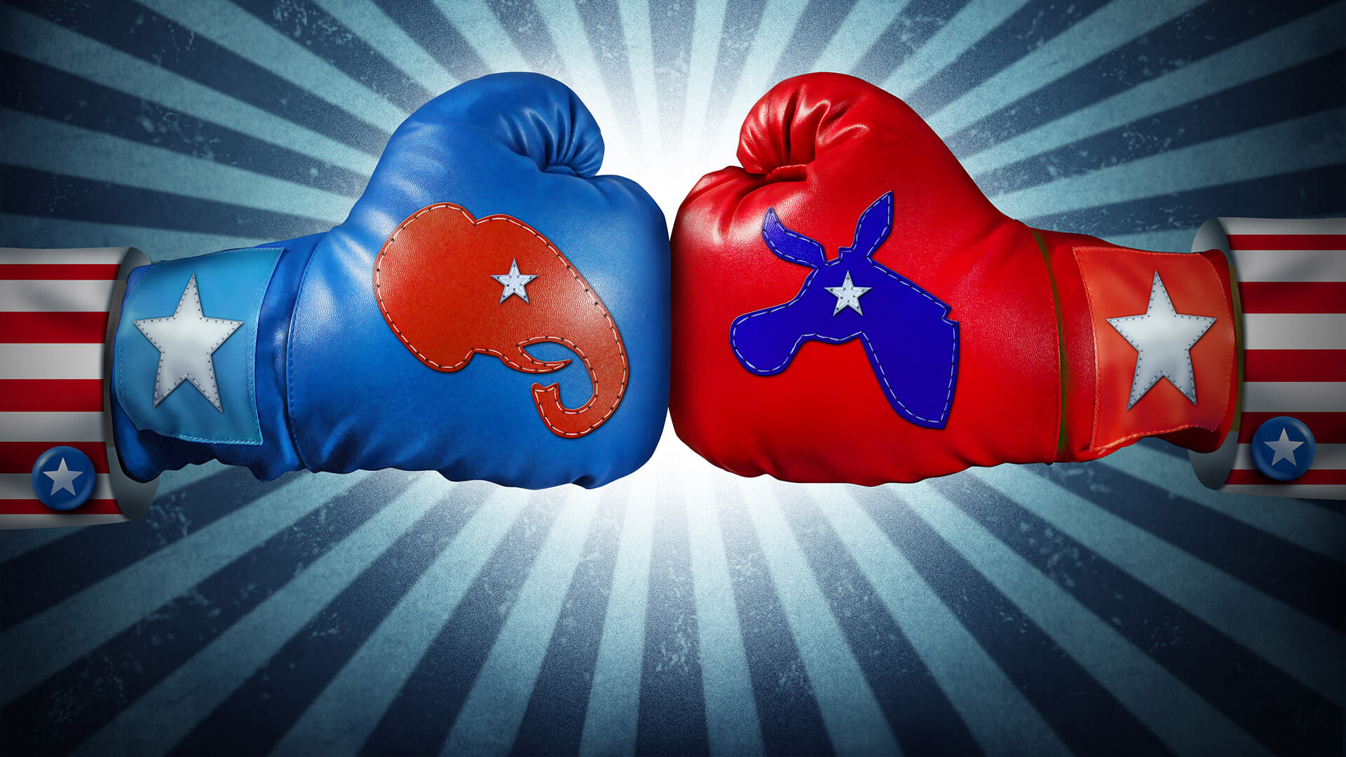The US presidential political betting fight