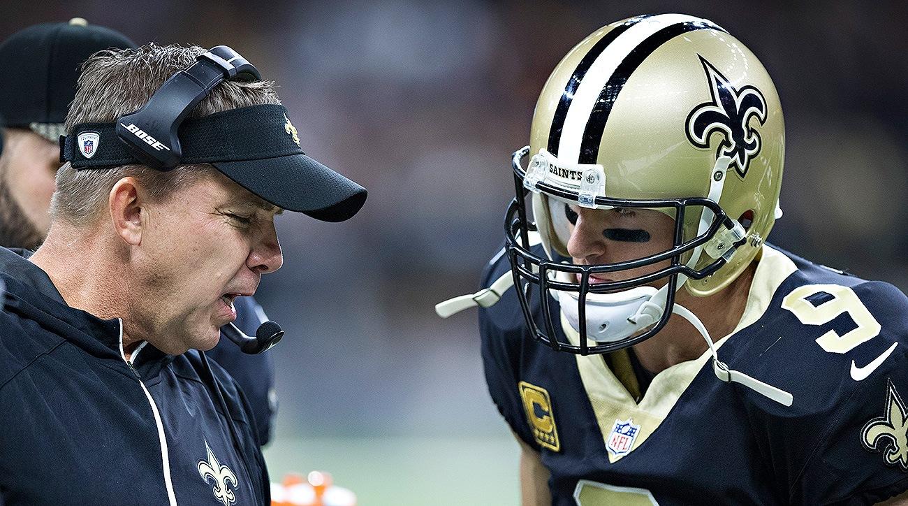 Sean Payton Drew Brees New Orleans Saints