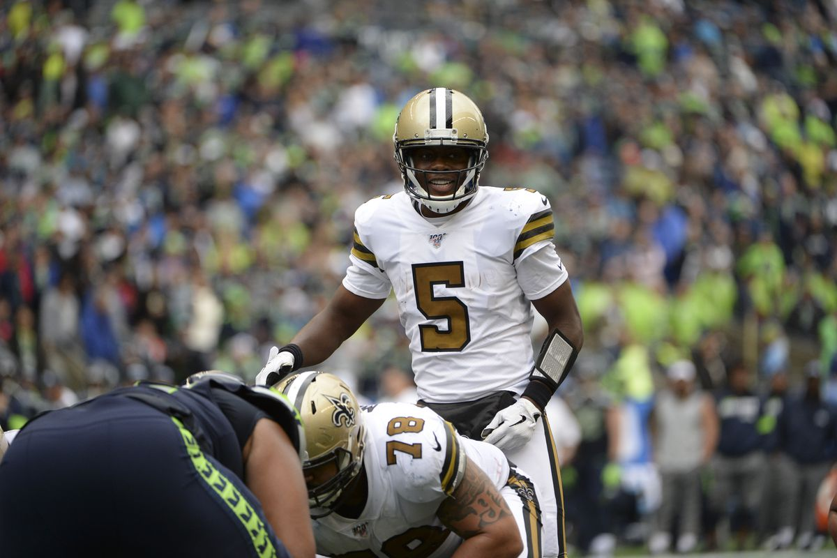 Saints QB Teddy Bridgewater