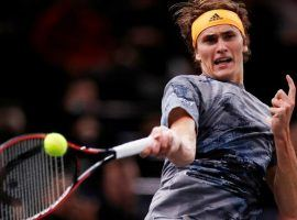 Alexander Zverev has clinched the seventh spot in the Nitto ATP Finals, leaving just one position up for grabs. (Image: Reuters)