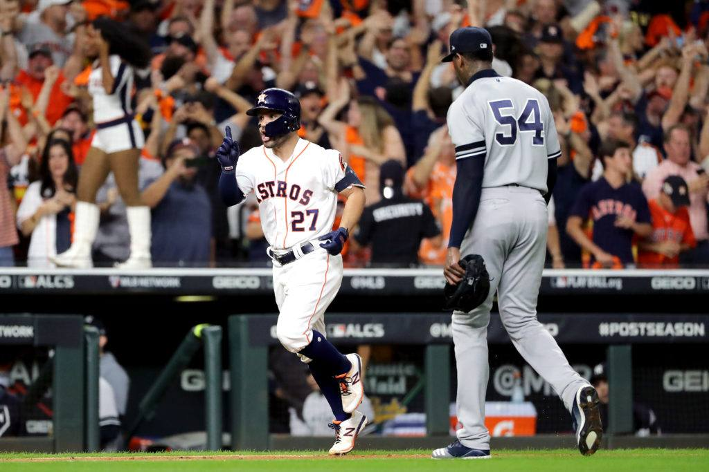 Houston Astros ALCS Walk-Off HR Jose Altuve Yankees