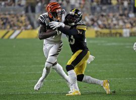 With AJ Green and John Ross injured, Auden Tate looks to be a bigger part of the Cincinnati Bengals offense, making him a DFS sleeper this week. (Image: DraftKings)