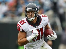 Falcons' tight end Austin Hooper had yet another big day on Sunday, rewarding DFS players who drafted him. (Image: Atlanta Falcons)
