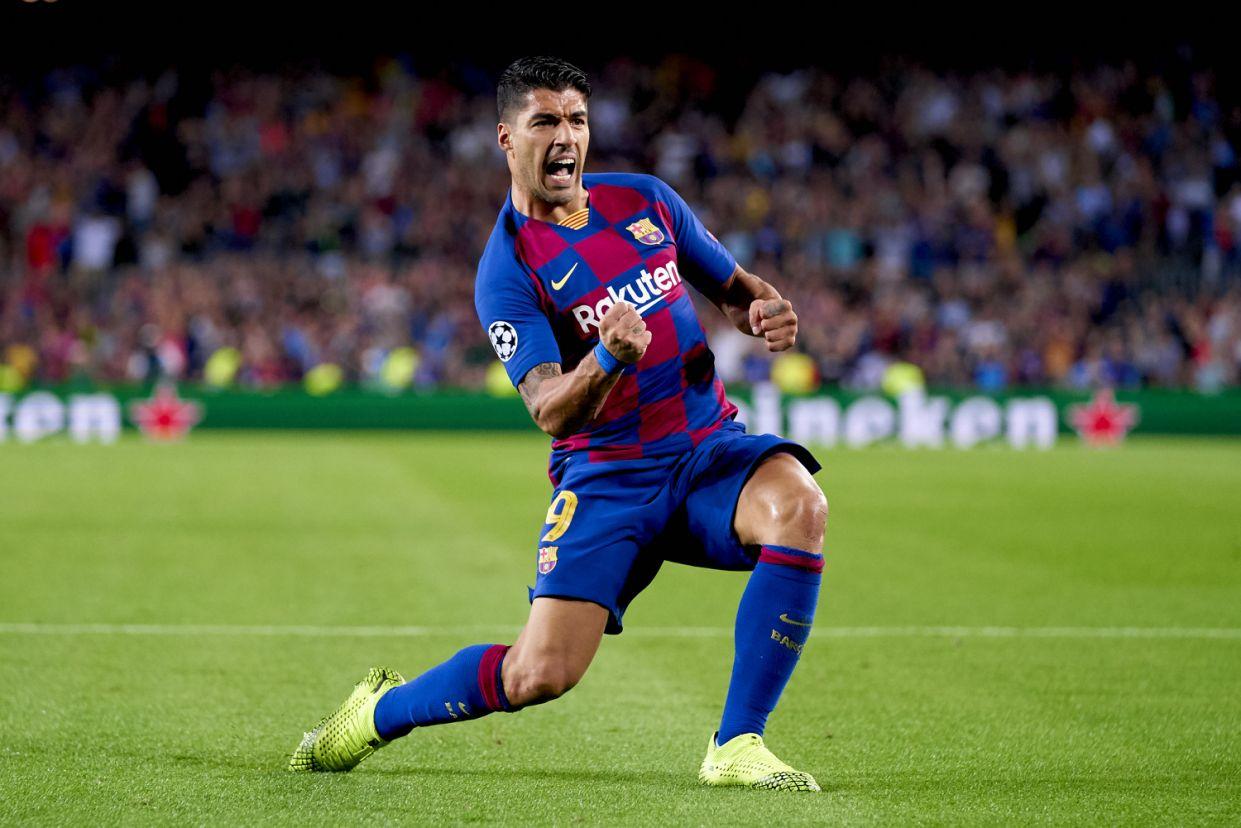 Champions League Suarez Barcelona