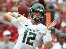 Baylor quarterback Charlie Brewer has enjoyed a strong start to 2019 as the Bears have done undefeated. He's worth a look in DFS this week. (Image: Baylor Bears)