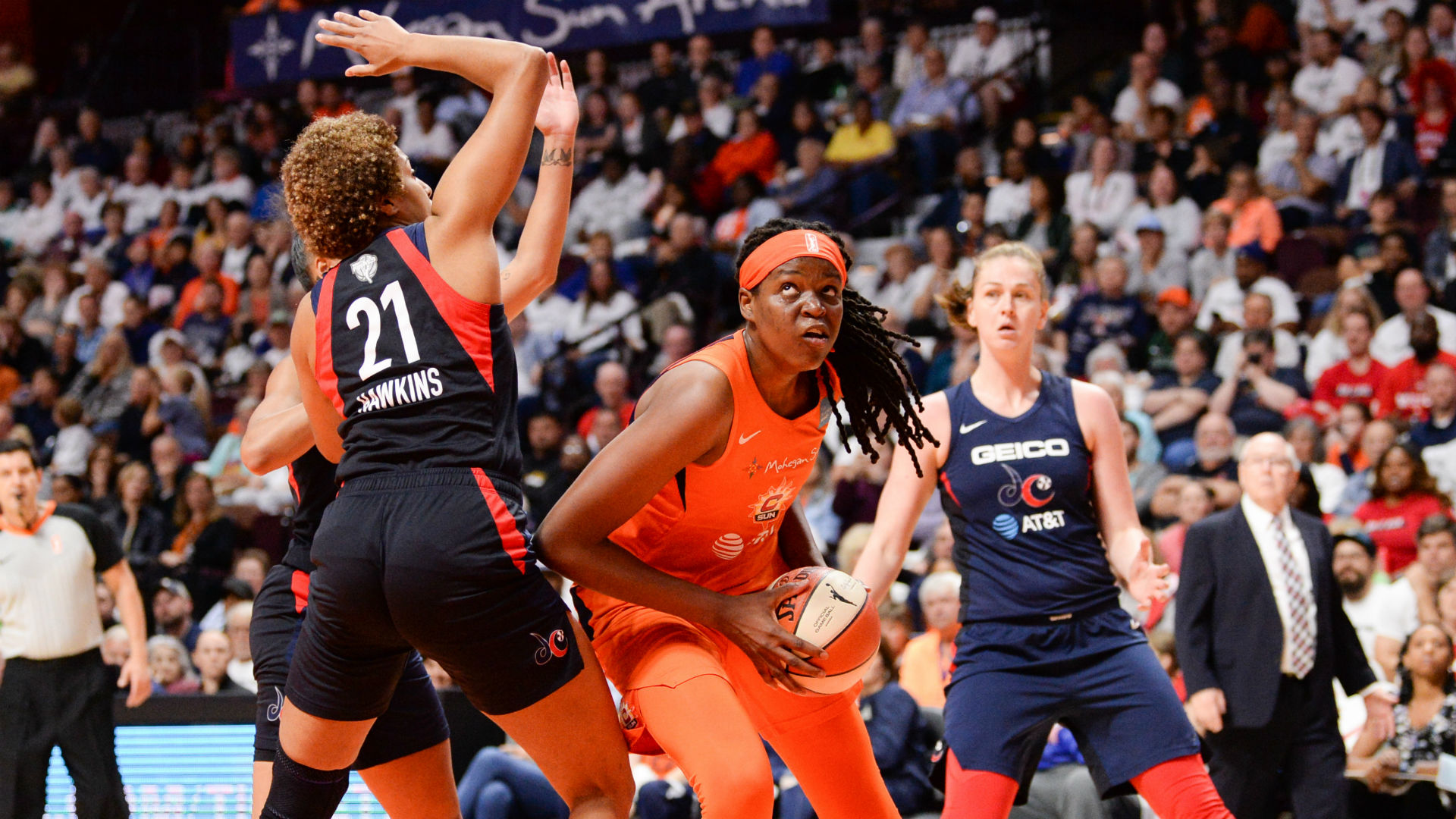 Connecticut Sun Mystics WNBA Finals