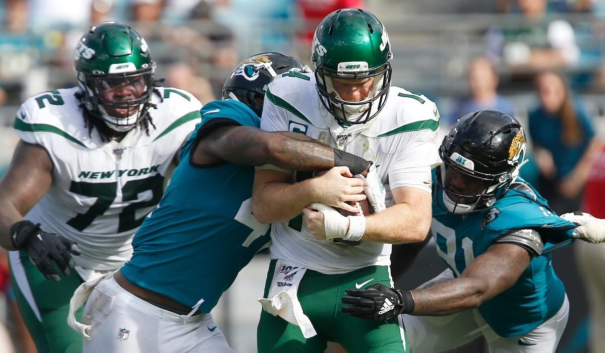 LOLJets NY Jets QB Sam Darnold Jacksonville Jaguars Jags