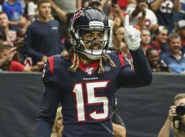 Houston Texans WR Will Fuller scored a career-high three touchdowns against the Falcons in Week 5. (Image: AP)