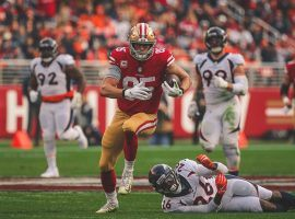 San Francisco 49ers tight end George Kittle has put up strong numbers so far in 2019. This Thursday he faces an Arizona Cardinals defense that has let tight ends run wild. (Image: San Francisco 49ers)