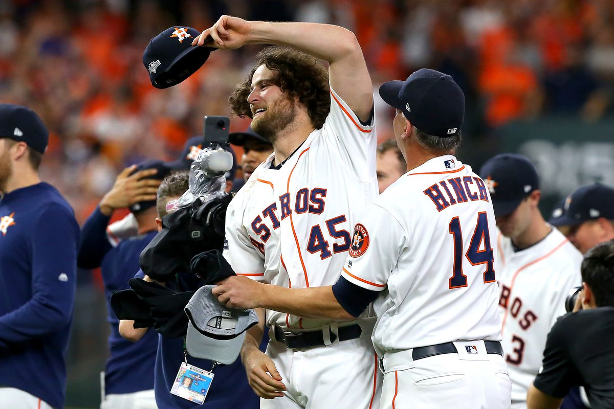 Houston Astros Gerrit Cole ALDS Tampa