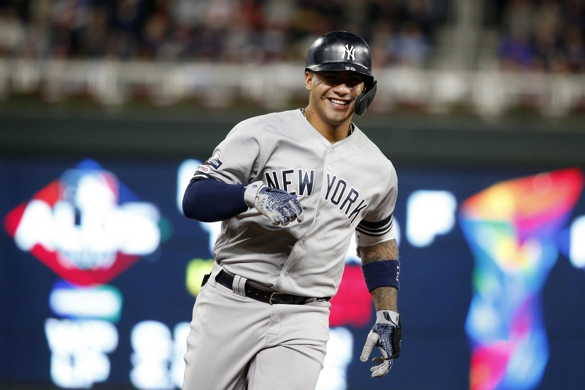 NY Yankees2B Gleyber Torres ALDS sweep Twins
