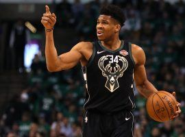 Milwaukee Bucks All-Star Giannis 'Greek Freak' Antetokounmpo is on a mission to lead the Bucks to a championship in 2020. (Image: Maddie Meyer/Getty)