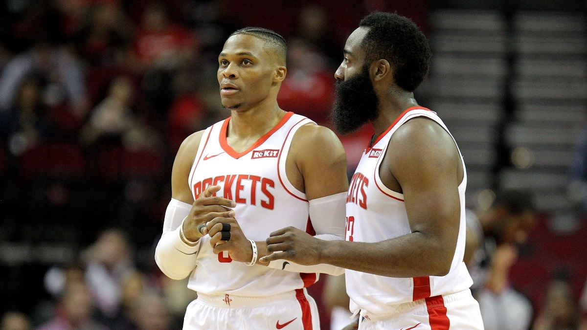 Russell Westbrook Houston Rockets NBA fantasy busts Chris Paul Derrick Rose