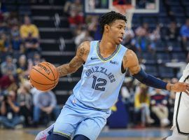 Rookie point guard Ja Morant leads the Memphis Grizzlies in scoring. (Image: Jerome Miron/Reuters)