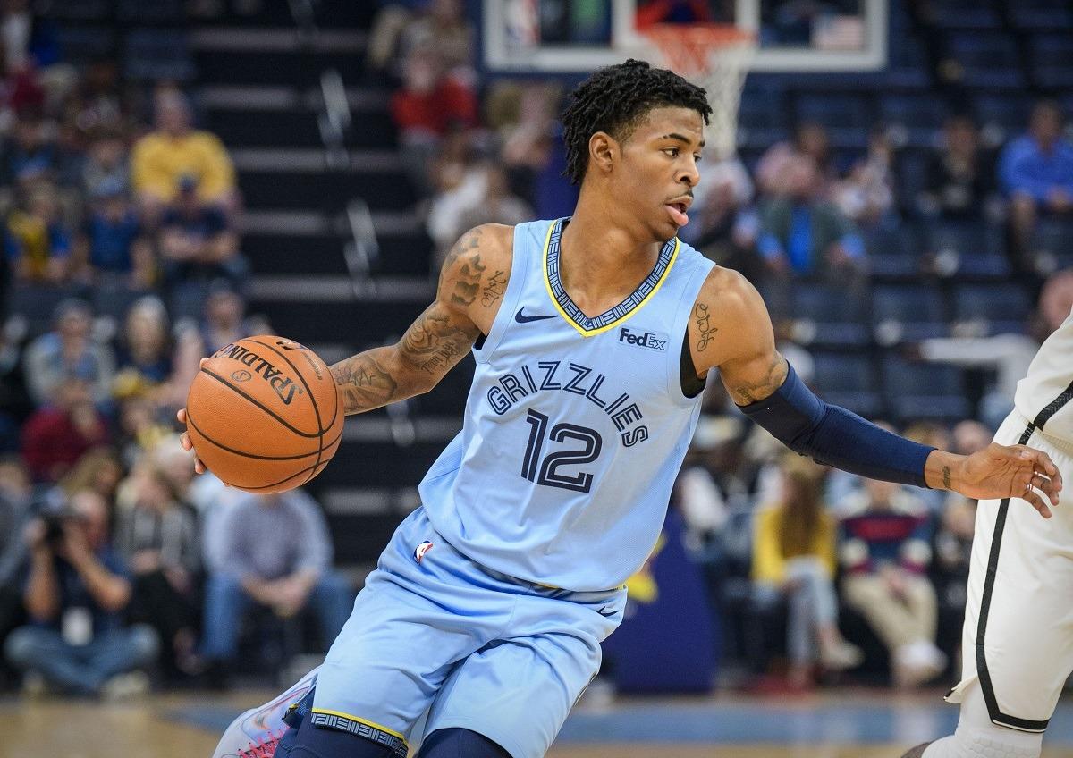 NBA Rookie of Year Odds Ja Morant RJ Barrett Zion
