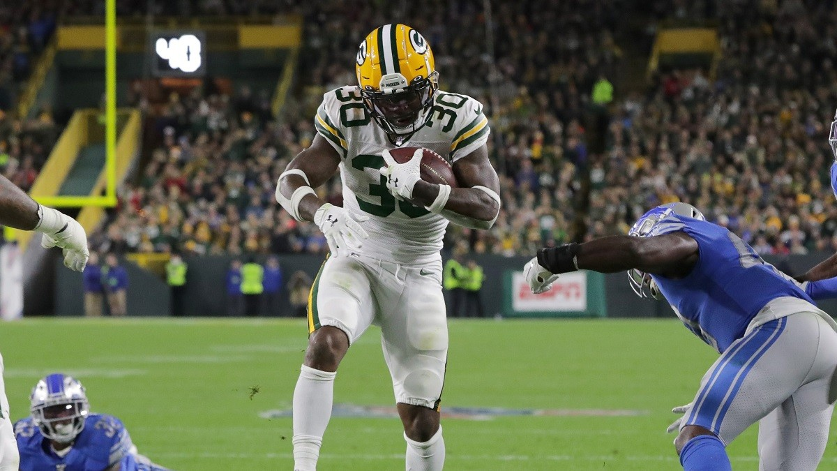 Waiver Wire Pickups Jamaal Williams Green Bay Packers RB