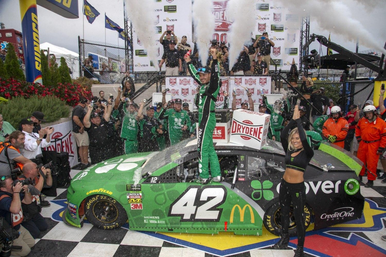 Kyle Larson NASCAR Dover