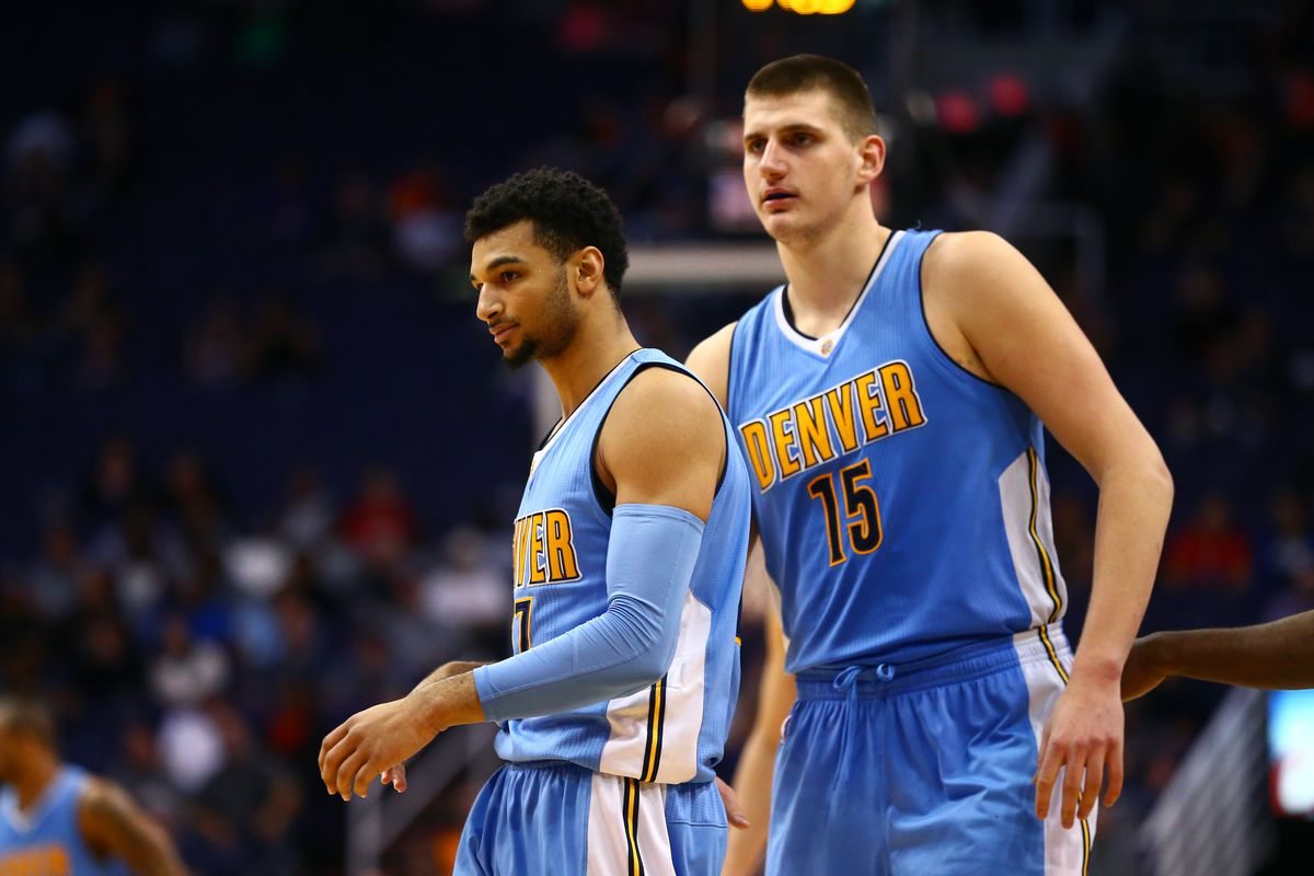 Denver Nuggets Jamal Murray Nikola Jokic NBA Preview Northwest Blazers Jazz