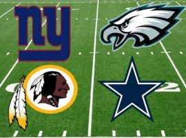 No winning teams in the NFC East yet. (Image: tonystake.com)