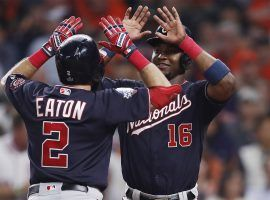 The Washington Nationals took advantage of sloppy play in the seventh inning to take a 2-0 lead over the Houston Astros in the 2019 World Series. (Image: EPA)