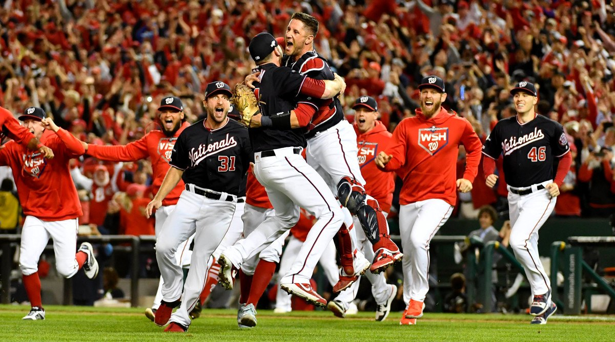 Washington Nationals sweep Cardinals in NLCS