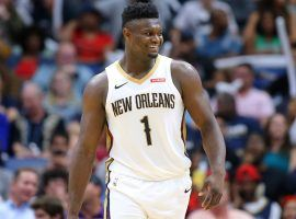 Rookie Zion Williamson has everyone tuning in to New Orleans Pelicans games this season. (Image: AP)