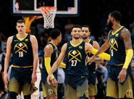 The Denver Nuggets, led by center Nikola Jokic (15), will be one of the teams to beat in the Western Conference in 2019-20. (Image: Isaiah J. Downing/USA Today Sports)