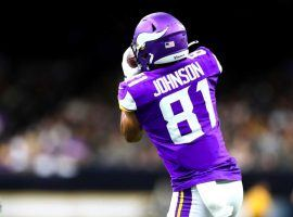 Vikings wide receiver Olabisi Johnson could see increased usage on Thursday night with Adam Thielen being out with an injured hamstring. Johnson is worth a look in Thursday Night Showdown with his value salary. (Image: Minnesota Vikings)