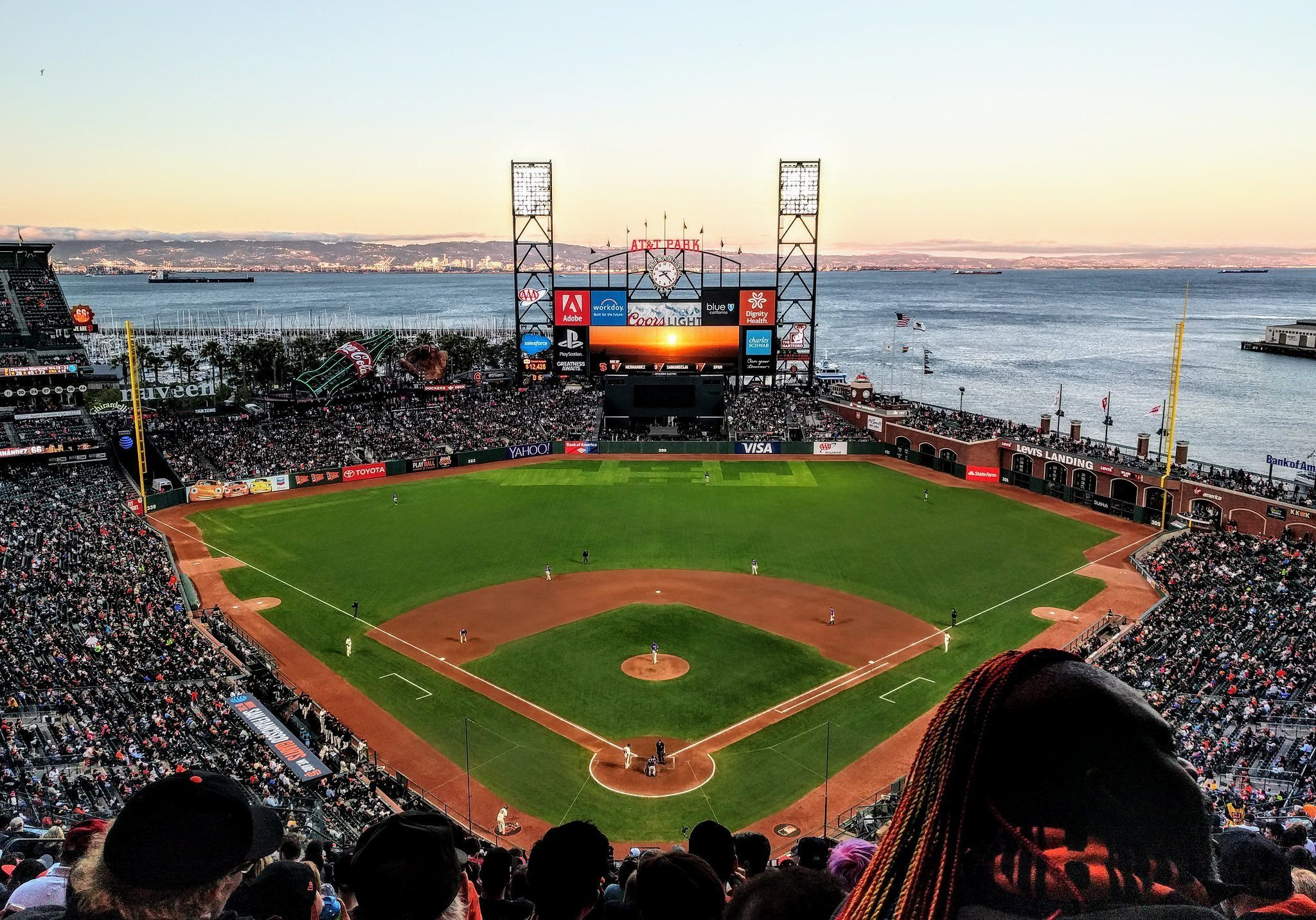 San Francisco Giants Oracle Park Moving Bullpens