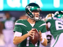 Jets QB Sam Darnold returns to action after missing the previous three games with mono. (Image: Porter Lambert/Getty)