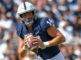 Penn State quarterback Sean Clifford put up big DFS numbers  on Friday. (Image: Penn State Sports)