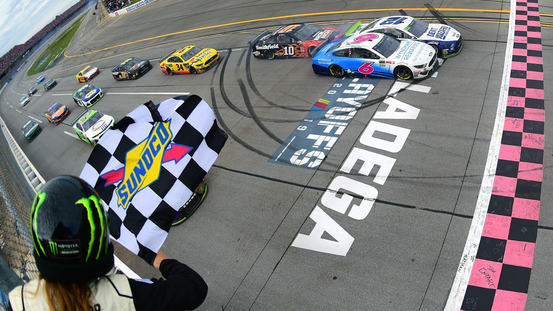 Ryan Blaney Talladega NASCAR