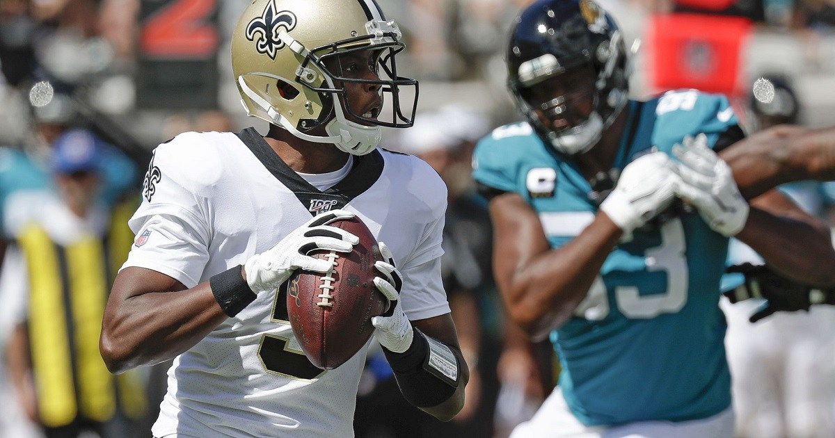 Teddy Bridgewater New Orleans Saints Pope Super Bowl odds