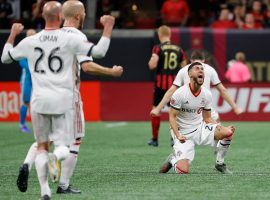 Toronto FC came from behind to defeat Atlanta United and reach the MLS Cup final for the third time in four years. (Image: Kevin C. Cox/Getty)