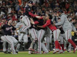 The Washington Nationals came from behind – again – to win Game 7 of the 2019 World Series. (Image: David J. Phillip/AP)