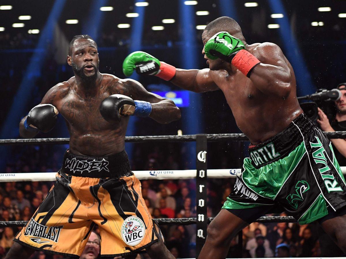 Deontay Wilder Luiz Ortiz Rematch