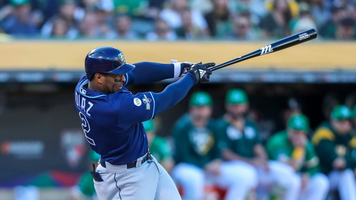 Tampa Bay Rays Yandy Diaz AL Wild Card