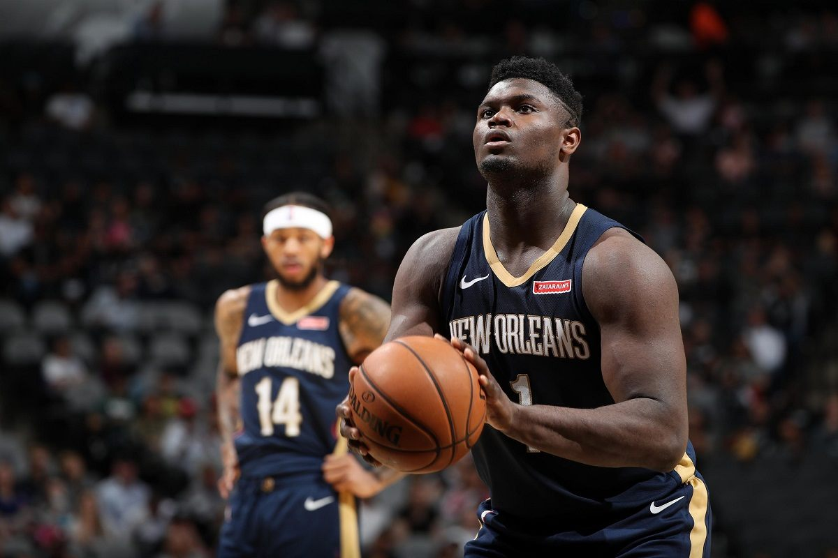 Zion Williamson out knee surgery