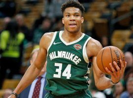 The big bosses in the NBA have picked Giannis Antetokounmpo as the overwhelming favorite to win this year's MVP. (Image: AP)