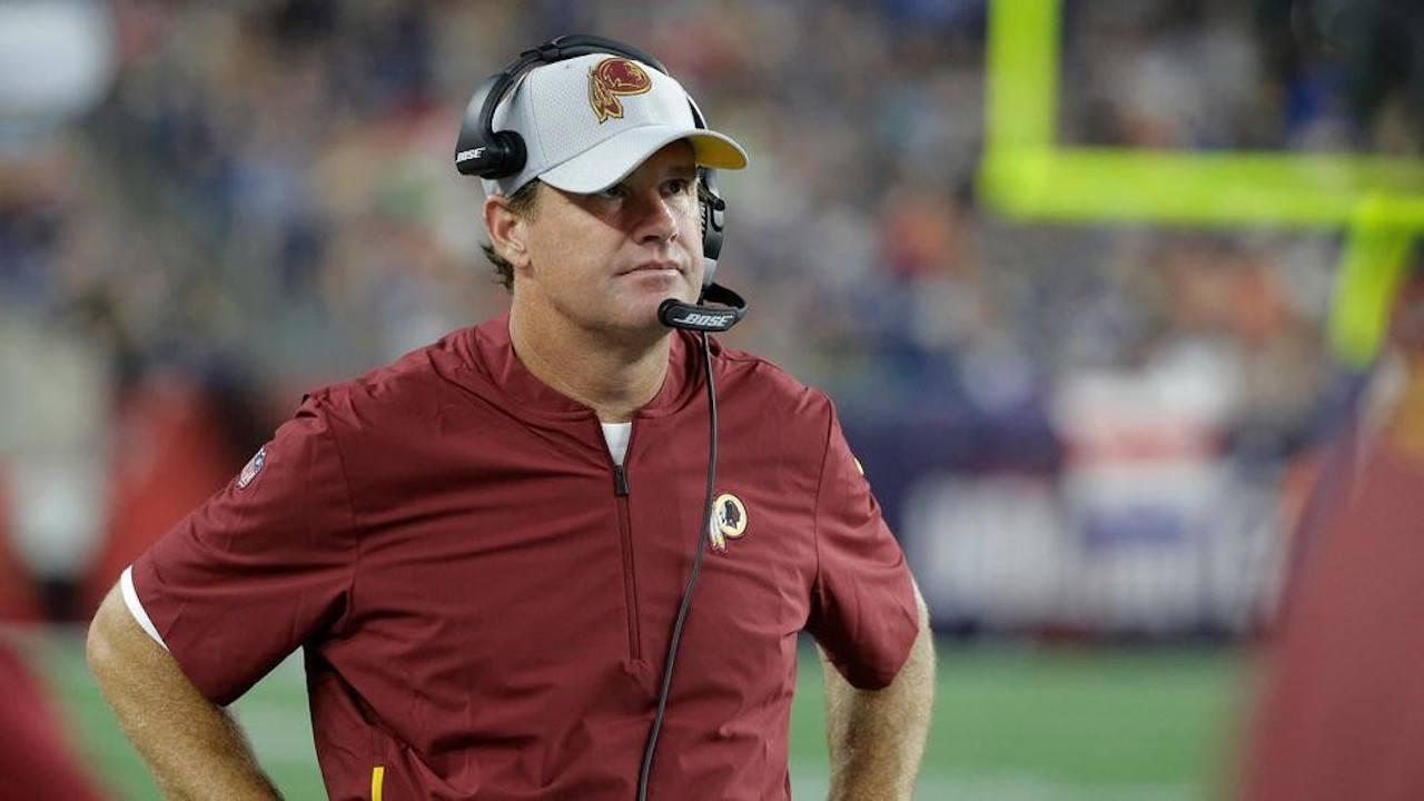 Redskins head coach, Jay Gruden