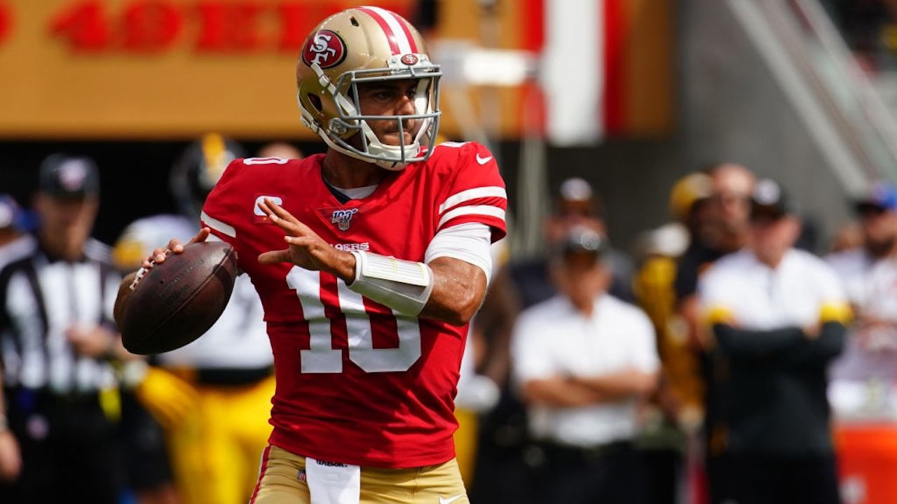 San Francisco quarterback Jimmy Garoppolo