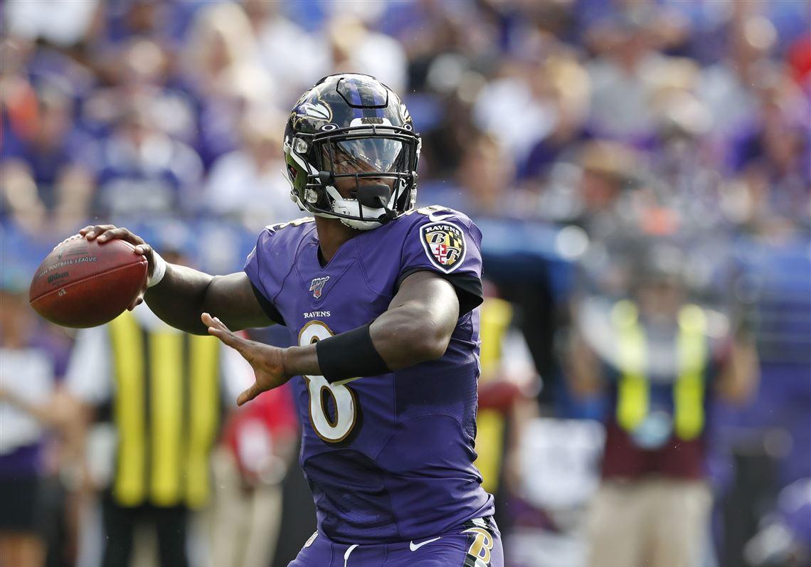 Baltimore quarterback Lamar Jackson