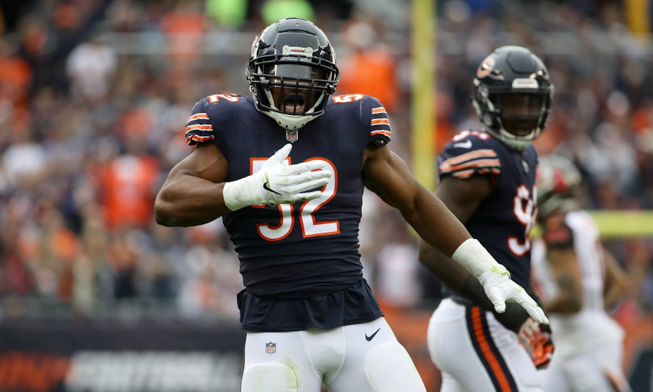 Chicago Bears linebacker Khalil Mack