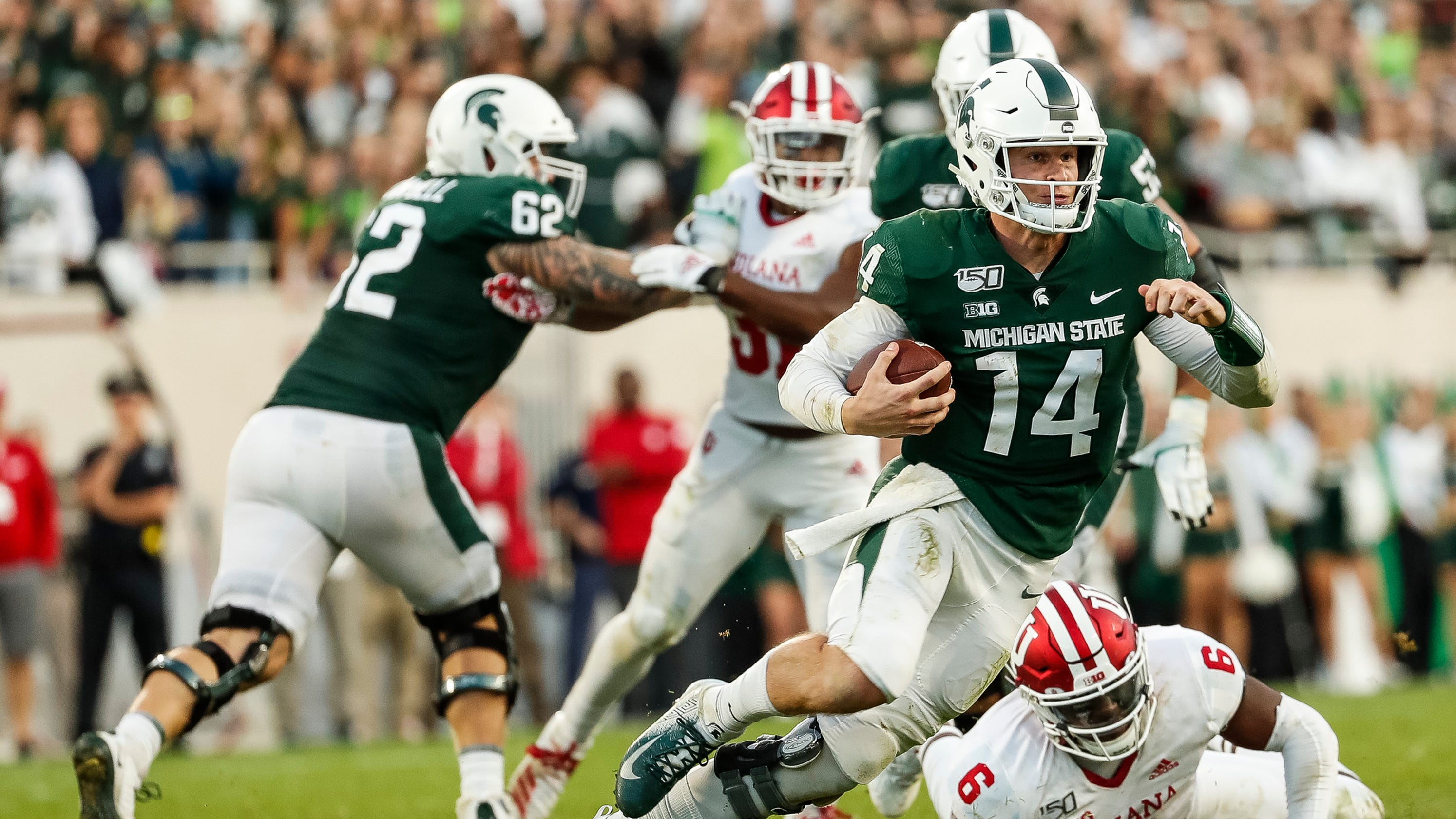 Brutal Schedule For Michigan State Includes Four Teams In Ap