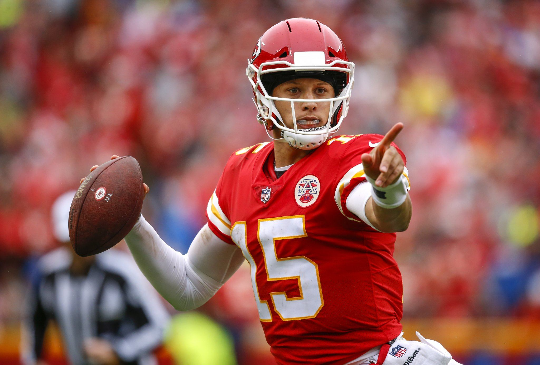 Kansas City quarterback Patrick Mahomes