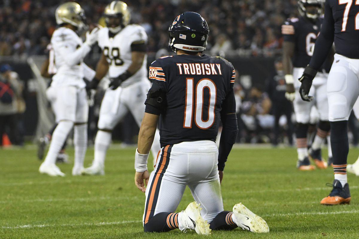 Chicago quarterback Mitchell Trubisky