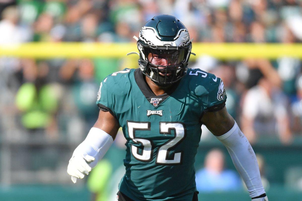 Philadelphia Eagles linebacker Zach Brown