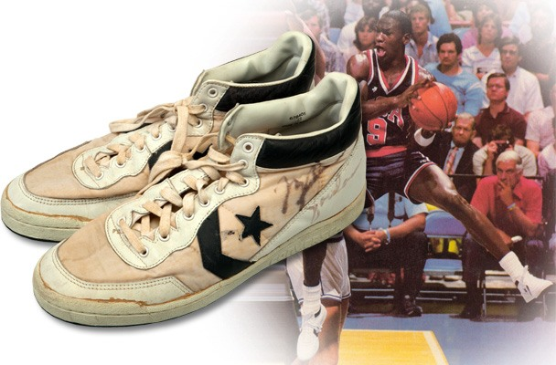 Michael Jordan's 1984 Olympic sneakers